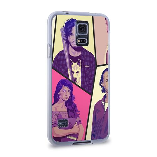 Чехол для Samsung Galaxy S5 силиконовый  Фото 02, Game of thrones