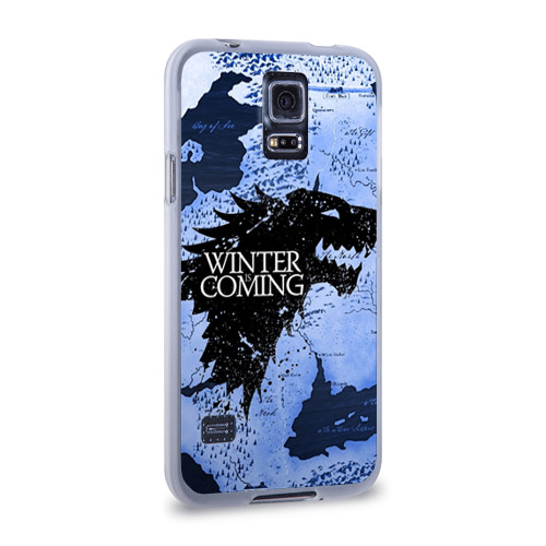 Чехол для Samsung Galaxy S5 силиконовый  Фото 02, Winter is coming