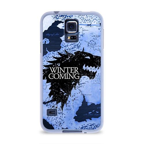 Чехол для Samsung Galaxy S5 силиконовый  Фото 01, Winter is coming