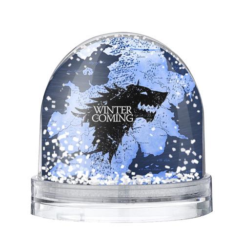 Водяной шар со снегом Winter is coming