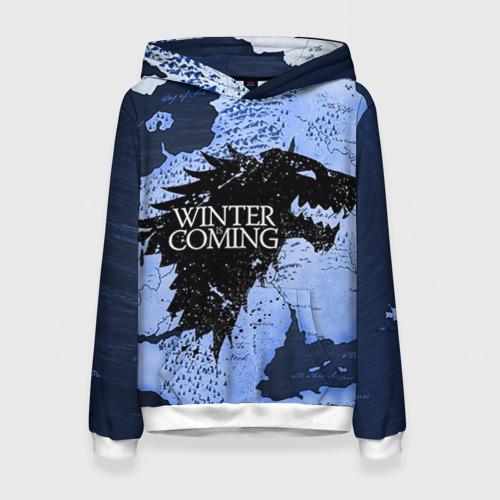 Женская толстовка 3D Winter is coming от Всемайки