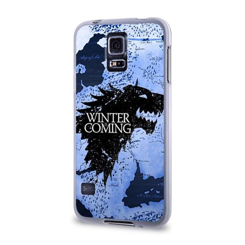 Чехол для Samsung Galaxy S5 силиконовый  Фото 03, Winter is coming
