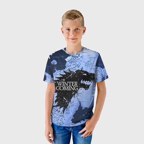 Детская футболка 3D Winter is coming