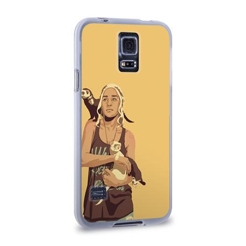 Чехол для Samsung Galaxy S5 силиконовый  Фото 02, Дени и хорьки