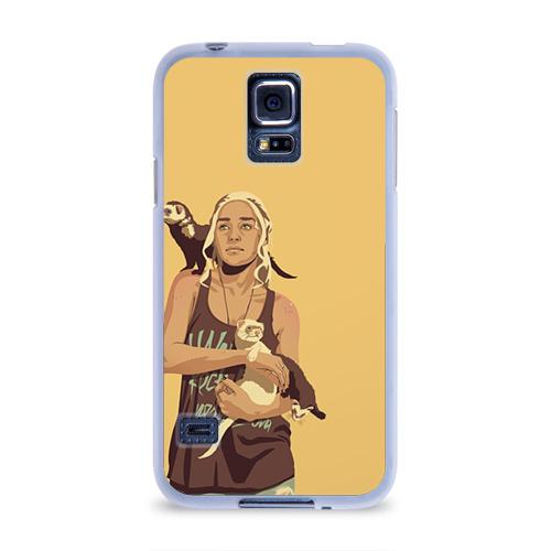 Чехол для Samsung Galaxy S5 силиконовый  Фото 01, Дени и хорьки