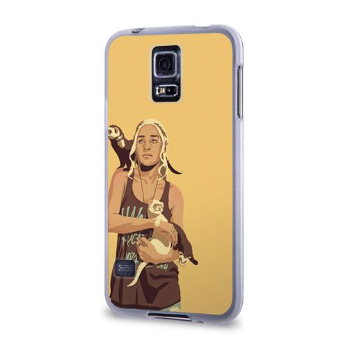 Чехол для Samsung Galaxy S5 силиконовый  Фото 03, Дени и хорьки