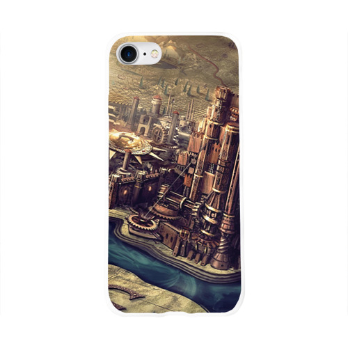 Чехол для Apple iPhone 8 силиконовый глянцевый  Фото 01, Карта