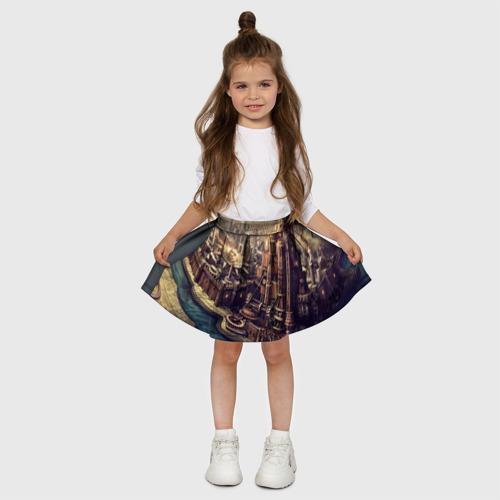 Детская юбка-солнце 3D  Фото 03, Карта