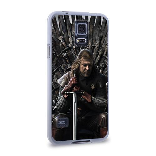 Чехол для Samsung Galaxy S5 силиконовый  Фото 02, Эддард Старк