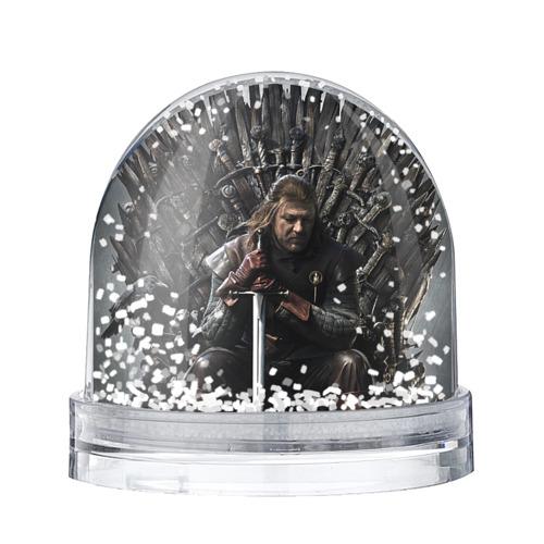 Водяной шар со снегом Эддард Старк