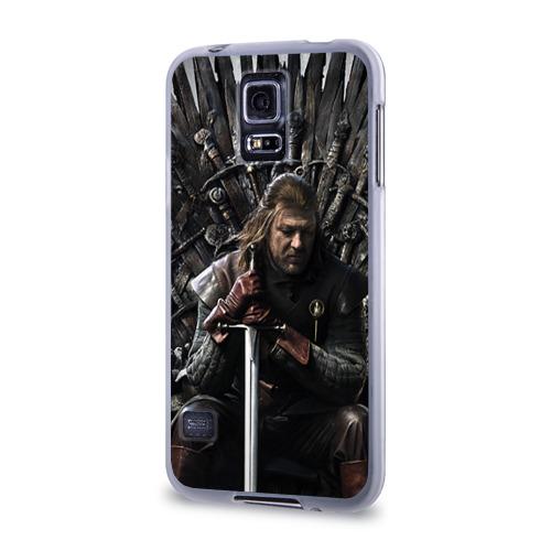 Чехол для Samsung Galaxy S5 силиконовый  Фото 03, Эддард Старк