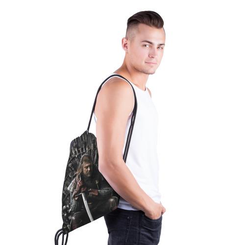 Рюкзак-мешок 3D  Фото 03, Эддард Старк