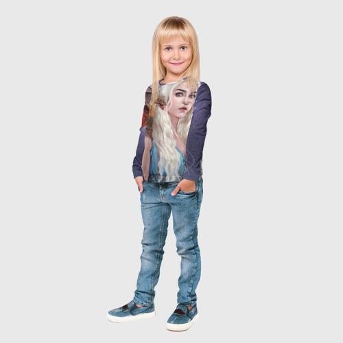 Детский лонгслив 3D  Фото 04, Бурерожденная