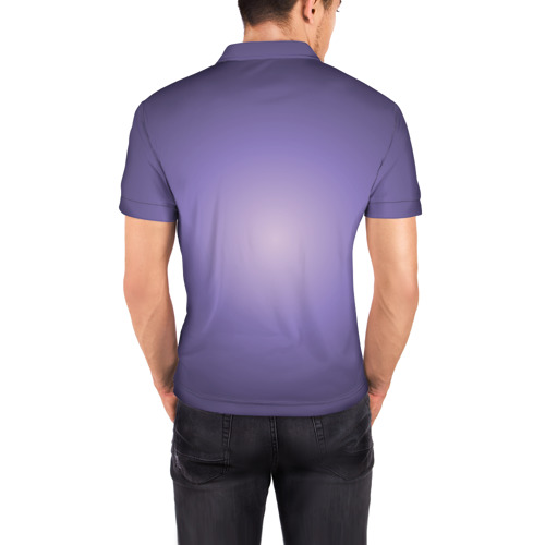 Мужская рубашка поло 3D  Фото 04, Бурерожденная