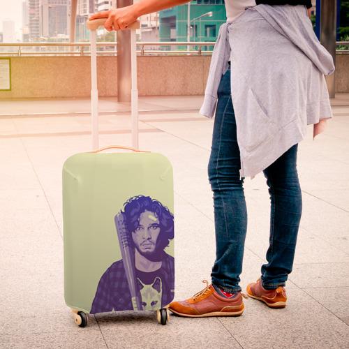 Чехол для чемодана 3D  Фото 04, Джон Сноу
