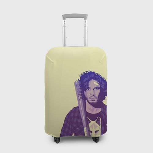 Чехол для чемодана 3D  Фото 01, Джон Сноу