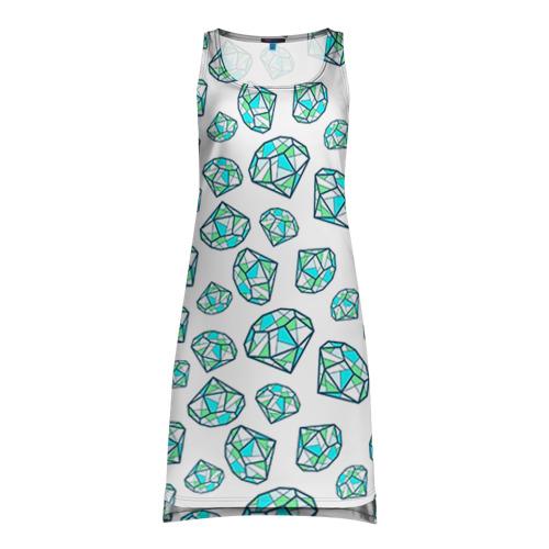Платье-майка 3D Бриллианты