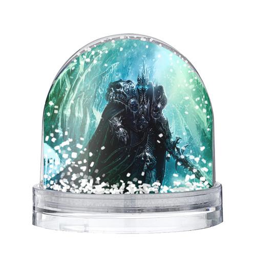 Водяной шар со снегом Король Лич