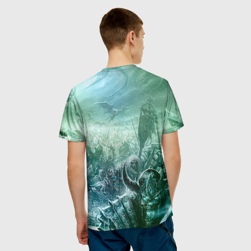 Мужская футболка 3D 'Король Лич'