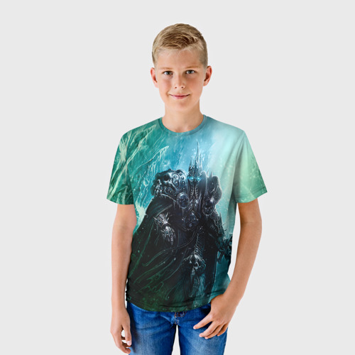 Детская футболка 3D Король Лич