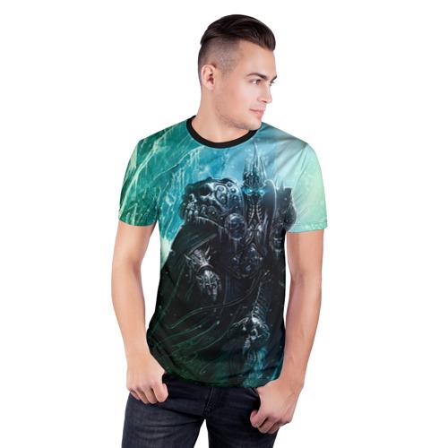 Мужская футболка 3D спортивная Король Лич Фото 01
