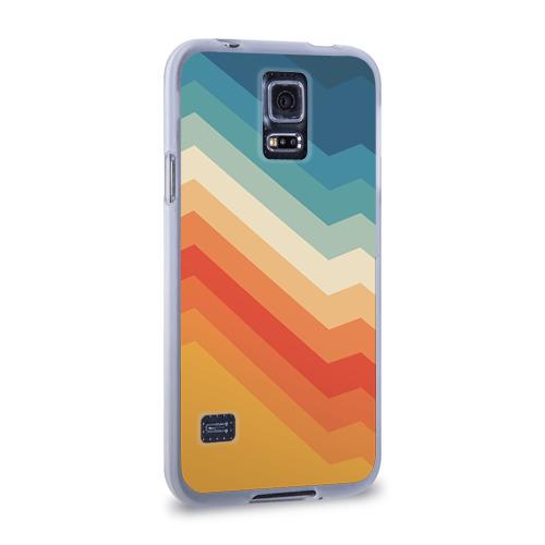 Чехол для Samsung Galaxy S5 силиконовый  Фото 02, Полосы
