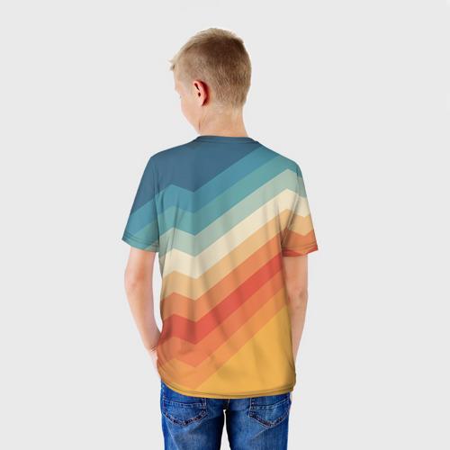 Детская футболка 3D Полосы Фото 01