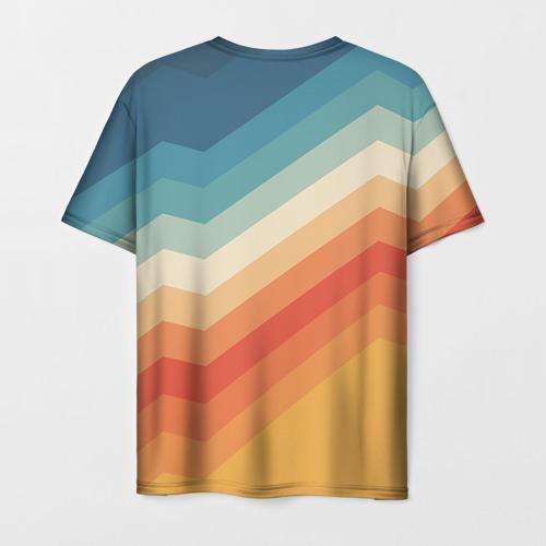 Мужская футболка 3D Полосы Фото 01