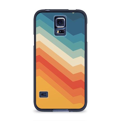 Чехол для Samsung Galaxy S5 силиконовый Полосы