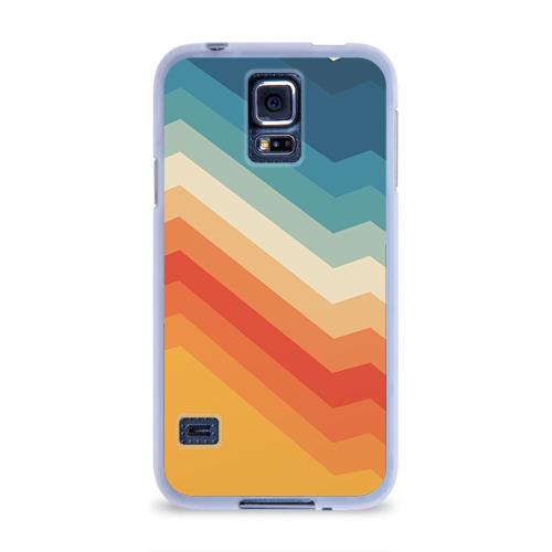 Чехол для Samsung Galaxy S5 силиконовый  Фото 01, Полосы