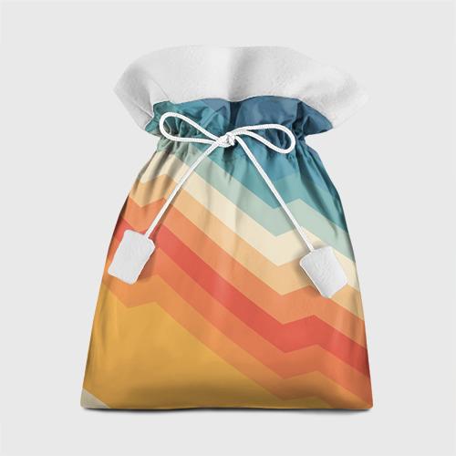 Подарочный 3D мешок Полосы Фото 01