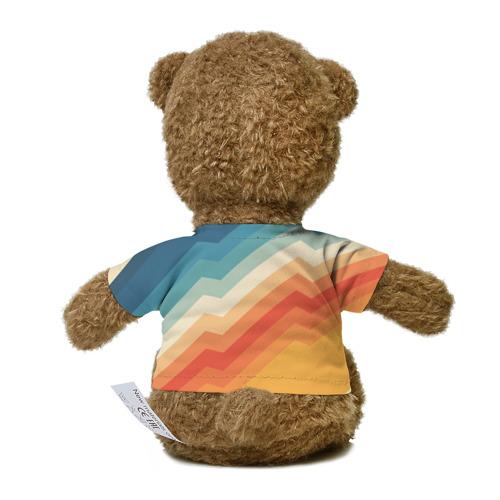 Миша в футболке 3D Полосы Фото 01