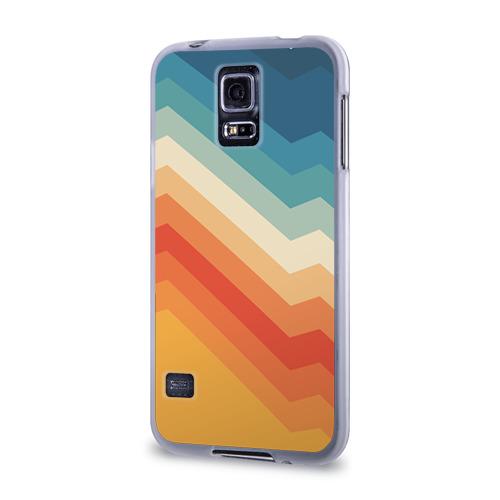 Чехол для Samsung Galaxy S5 силиконовый  Фото 03, Полосы