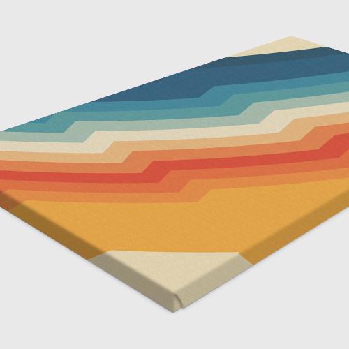 Холст прямоугольный Полосы Фото 01