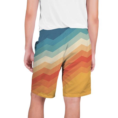 Мужские шорты 3D Полосы Фото 01