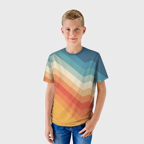 Детская футболка 3D Полосы