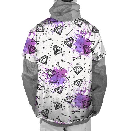 Накидка на куртку 3D  Фото 02, Стрелы и алмазы