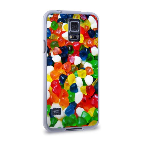 Чехол для Samsung Galaxy S5 силиконовый  Фото 02, Мармелад