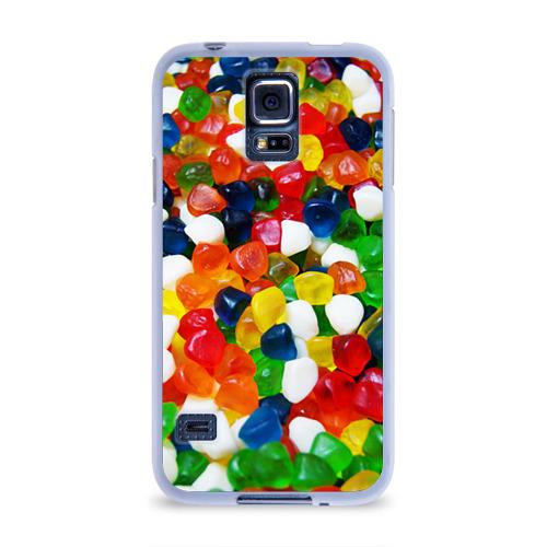 Чехол для Samsung Galaxy S5 силиконовый  Фото 01, Мармелад