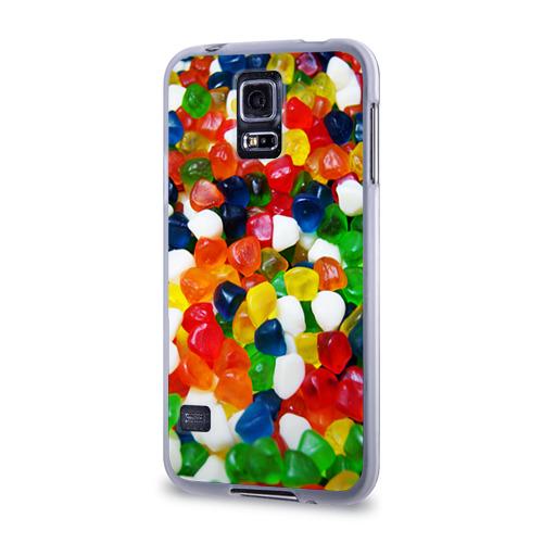 Чехол для Samsung Galaxy S5 силиконовый  Фото 03, Мармелад