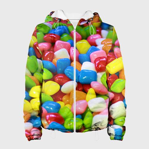 Женская куртка 3D  Фото 01, Конфетки