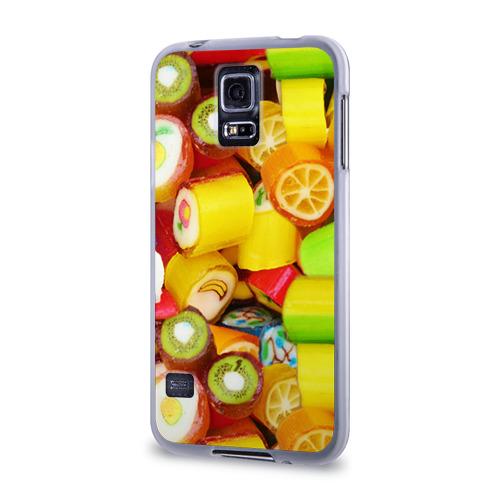 Чехол для Samsung Galaxy S5 силиконовый  Фото 03, Леденцы