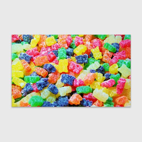 Бумага для упаковки 3D  Фото 01, Мармеладные мишки