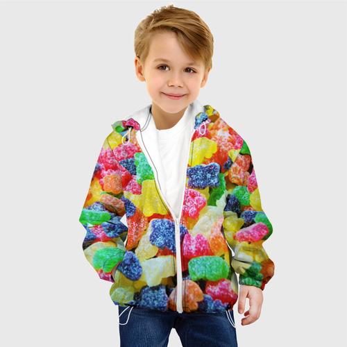 Детская куртка 3D  Фото 03, Мармеладные мишки