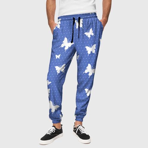 Мужские брюки 3D Бабочки