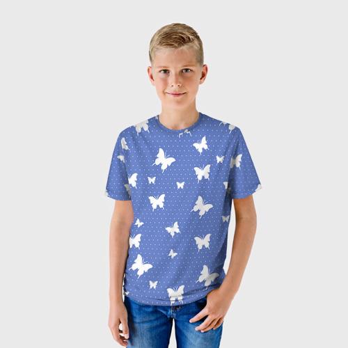Детская футболка 3D Бабочки