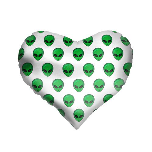 Подушка 3D сердце Пришелец