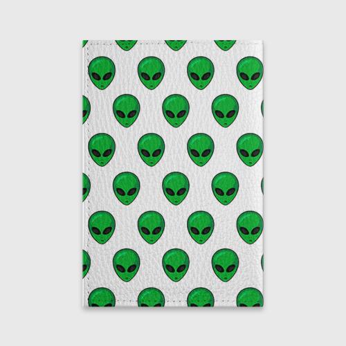 Обложка для паспорта матовая кожа  Фото 02, Пришелец