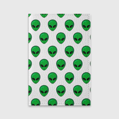 Обложка для паспорта матовая кожа  Фото 01, Пришелец