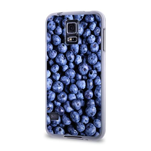 Чехол для Samsung Galaxy S5 силиконовый  Фото 03, Черника